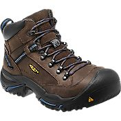 KEEN Men's Braddock Mid AL Waterproof Steel Toe Work Boots