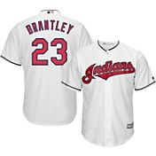 Majestic Men's Replica Cleveland Indians Michael Brantley #23 Cool Base Home White Jersey