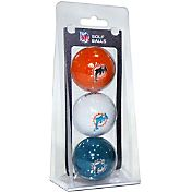 Team Golf Miami Dolphins Golf Balls – 3 Pack