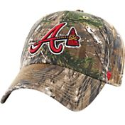 '47 Men's Atlanta Braves Realtree Camo Clean Up Adjustable Hat