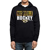 '47 Men's Nashville Predators Headline Pullover Navy Hoodie