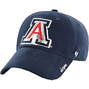 '47 Women's Arizona Wildcats Navy Sparkle Clean-Up Adjustable Hat