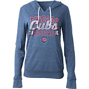 5th & Ocean Women's Chicago Cubs Royal Tri-Blend Hoodie