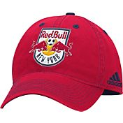 adidas Men's New York Red Bulls Structured Adjustable Hat