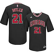 adidas Men's Chicago Bulls Jimmy Butler #21 Alternate Black Replica Jersey