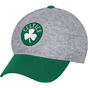 adidas Men's Boston Celtics Structured Grey Flex Hat