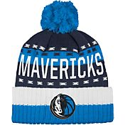 adidas Men's Dallas Mavericks Cuffed Pom Knit Hat
