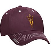 adidas Men's Arizona State Sun Devils Maroon Sideline Coaches Structured Flex-Fitted Hat
