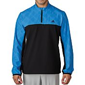 adidas Men's Performance Stretch Half-Zip Wind Jacket