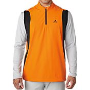 adidas Men's Performance Stretch Half-Zip Wind Vest