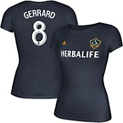 adidas Women's LA Galaxy Steven Gerrard #8 Player T-Shirt