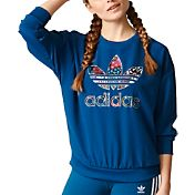 adidas Women's Originals Trefoil Graphic Sweatshirt