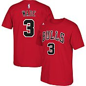 adidas Youth Chicago Bulls Dwyane Wade #3 Red T-Shirt