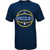 adidas Youth Memphis Grizzlies climalite Navy T-Shirt