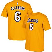 adidas Youth Los Angeles Lakers Jordan Clarkson #6 Gold T-Shirt