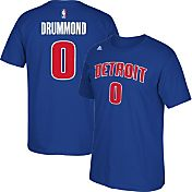 adidas Youth Detroit Pistons Andre Drummond #0 Royal T-Shirt