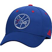 adidas Youth Philadelphia 76ers Royal Structured Flex Hat