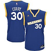 adidas Youth Golden State Warriors Steph Curry #30 Alternate Replica Jersey