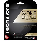 Tecnifibre X-One Biphase 16 Racquet String – 12M Set