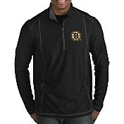 Antigua Men's Boston Bruins Tempo Half-Zip Pullover Shirt