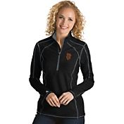 Antigua Women's San Francisco Giants Black Tempo Quarter-Zip Pullover