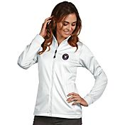 Antigua Women's Houston Astros Full-Zip White Golf Jacket