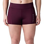 SECOND SKIN Women's QUATROFLX 3'' Compression Shorts