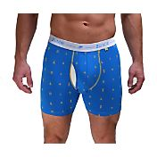 2UNDR Men's Day Shift Printed 6'' Boxer Briefs