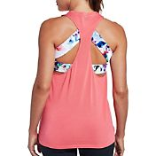 CALIA by Carrie Underwood Women's Strap Back Muscle Tank Top