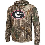 Colosseum Athletics Men's Georgia Bulldogs Camo Breech Pullover Hoodie