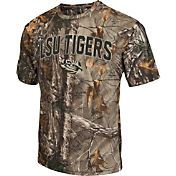 Colosseum Athletics Men's LSU Tigers Camo Brow Tine T-Shirt