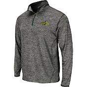 Colosseum Athletics Men's North Dakota State Bison Grey Action Pass Quarter-Zip