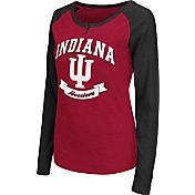Colosseum Athletics Women's Indiana Hoosiers Crimson Healy Long Sleeve Shirt