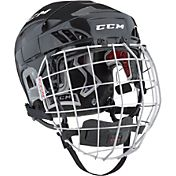 CCM Senior FitLite 60 Ice Hockey Helmet Combo