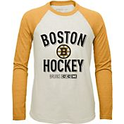 CCM Youth Boston Bruins Long Sleeve Raglan Sleeve T-Shirt
