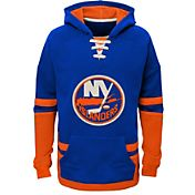 CCM Youth New York Islanders Royal Pullover Hoodie