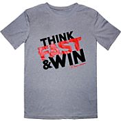 Champion Boys' Think Fast And Win Graphic T-Shirt