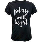 Champion Girls' Play With Heart Graphic T-Shirt