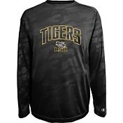 Champion Men's LSU Tigers Black Chrome Long Sleeve T-Shirt