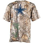 Dallas Cowboys Merchandising Men's Outdoor Realtree Camouflage T-Shirt