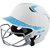 Easton Junior Z5 Two-Tone Fastpitch Batting Helmet w/ Facemask