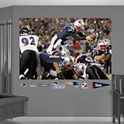 Fathead Tom Brady Diving Touchdown Mural Wall Graphic