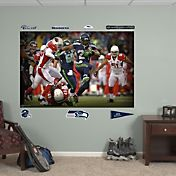 Fathead Marshawn Lynch #24 Seattle Seahawks Mural