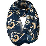 Forever Collectibles Los Angeles Rams 2016 Logo Infinity Scarf