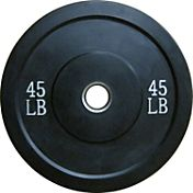 Fitness Gear Pro 45 lb Olympic Rubber Bumper Plate