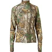 Field & Stream Women's Base Defense Midweight Mock Neck Base Layer Shirt