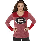 Touch by Alyssa Milano® Women's Georgia Bulldogs Goal Line Long Sleeve Shirt
