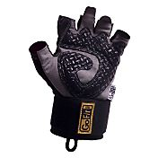 GoFit Diamond-Tac Weightlifting Wrist-Wrap Gloves
