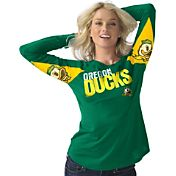 Hands High Women's Oregon Ducks Apple Green Handoff Long Sleeve Shirt