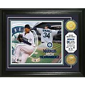 Highland Mint Seattle Mariners Felix Hernandez Photo Mint